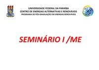 Seminário I/ME